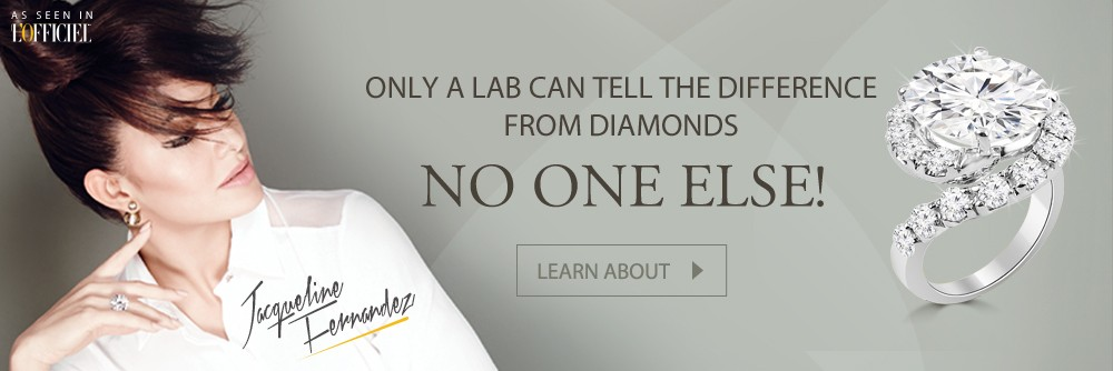 Only a lab can tell the difference from diamonds NO ONE ELSE!